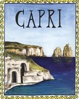 Capri Fine Art Print