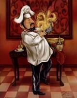 Chefs With Wine III Fine Art Print