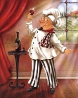 """Chefs With Wine IV by Shari Warren - 8"""" x 10"""""""