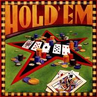 Hold 'em Poker Fine Art Print