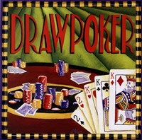 Draw Poker Fine Art Print