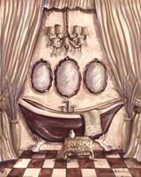"Charming Bathroom I by Kate McRostie - 8"" x 10"""