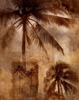 Retro Palms 2 Fine Art Print