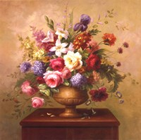 Heirloom Bouquet I Fine Art Print
