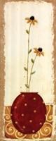 """Polka Dot Flower Pot IV by Karen Good - 8"""" x 20"""""""