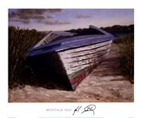 Montauk Skiff Fine Art Print