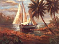 "Setting Sail I by Enrique Bolo - 40"" x 30"", FulcrumGallery.com brand"