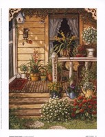 """Summer Front Porch by Janet Kruskamp - 6"""" x 8"""""""