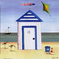 Beach House I Fine Art Print