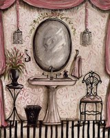 """Fanciful Bathroom IV by Kate McRostie - 8"""" x 10"""""""