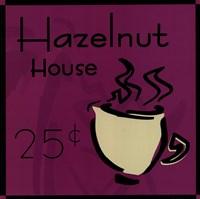 "Hazelnut House by Jonde Northcutt - 8"" x 8"", FulcrumGallery.com brand"