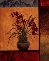 Cymbidium Window Fine Art Print