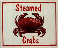 Steamed Crabs Fine Art Print