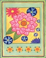 Mod Flower 4 Fine Art Print