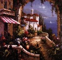 Mediterranean Arches I Fine Art Print