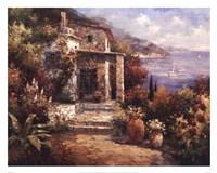 Monterosso Villa Fine Art Print