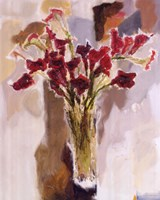 """Red Calla Lilies by Yona - 22"""" x 28"""""""
