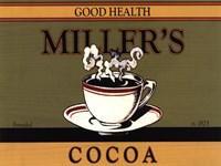 Miller's Cocoa Framed Print