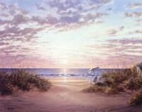 Paradise Dawn Fine Art Print