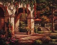 Arch Courtyard II Fine Art Print