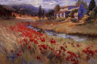 "Villa d'Umbria by Ruth Baderian - 36"" x 24"""
