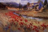 Villa d'Umbria Fine Art Print