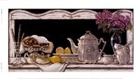 "Tea Time by Janet Kruskamp - 9"" x 5"", FulcrumGallery.com brand"