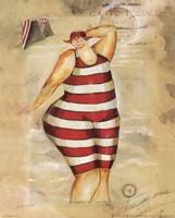 Baigneur de Soleil II Fine Art Print
