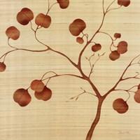 "Autumn Leaves on Silk II by Deborah Falls - 24"" x 24"" - $19.49"