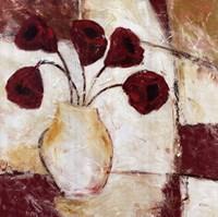 Red Flowers II Fine Art Print