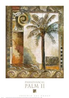 Paradisiacal Palm II Fine Art Print