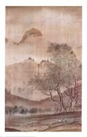 Land of the Pagoda II Fine Art Print