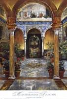 "Mediterranean Fountain by Dennis Carney - 27"" x 40"" - $30.49"