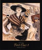 First Class 1 Fine Art Print