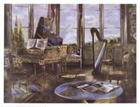 La Lezione de Musica Fine Art Print