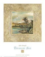 "Treasure Isle 1 by John Douglas - 19"" x 24"""