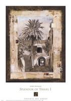 Splendor of Travel I Framed Print