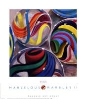 Marvelous Marbles II Fine Art Print