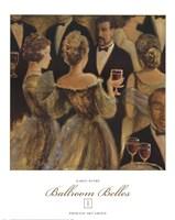 Ballroom Belles I Fine Art Print
