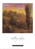 Falling Glow Fine Art Print