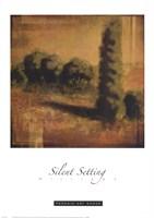 Silent Setting Fine Art Print