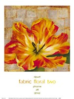 Fabric Floral Two Fine Art Print