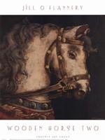 Wooden Horse Two Fine Art Print