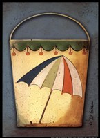 Umbrella Bucket Fine Art Print