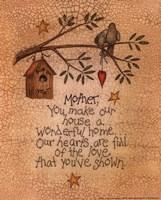 "Mother (bird) by Linda Spivey - 8"" x 10"", FulcrumGallery.com brand"