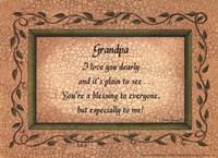 "Grandpa by Linda Spivey - 7"" x 5"""