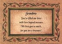"Grandma by Linda Spivey - 7"" x 5"""