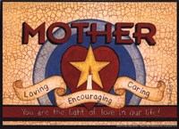 """Mother (star) by Linda Spivey - 7"""" x 5"""""""
