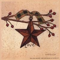 "Love by Linda Spivey - 5"" x 5"""