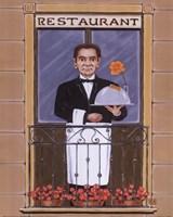 Restaurant Fine Art Print